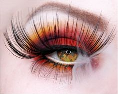Fake , render ? or real ? Yeah it's real eye painting, great job , awesome colors and shades