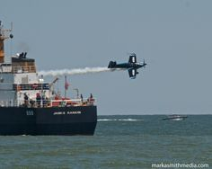 MK-S passing USCG at show center