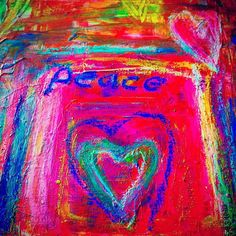 Happy Peace Day Peace means all humanity living together, sharing and caring for each other and our planet 🌎💕🌈 - Theresa Murphy Peace Meaning, Our Planet, Photo Contest, My Arts, Neon Signs, Day, Artist, Painting, Google Search