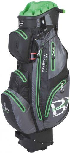 "Lime Quiet Organizer ""14"" Waterproof Bennington Ladies Golf Cart Bag available at @lorisgolfshoppe"