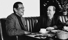 Satyajit Ray and Ingmar Bergman.