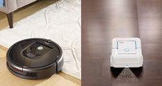 iRobot Roomba 980 Vacuuming Robot and iRobot Braava jet Mopping Robot