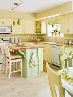 green kitchen dining decor on pinterest green kitchens and yellow