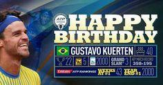 Gustavo Kuerten ..... Happy  Birthday....40....September 10th, 2016..