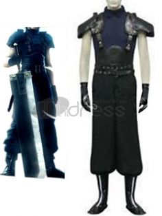 Make you the same as charater in this Final Fantasy cosplay costume for cosplay show.
