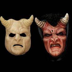 demon devil latex halloween mask
