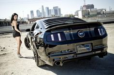 babes and muscle cars   cityscapes muscle cars vehicles tuning ford mustang girls with cars ...