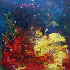 "OLIVIERO PAGLIAROLI ""21 ottobre 2011"" - 2011  Olio su tela, 150x150 cm"