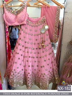 Lehenga Choli Designer Indian Pakistani Bollywood Women Fashion Partywear NX-182 | eBay