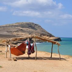 Cabo de la Vela remains off the beaten path for foreign travellers visiting Colombia. This desert by the sea is located in La Guajira,. Colombia Country, Colombia South America, South America Travel, Latin America, Visit Colombia, Colombia Travel, Places To Travel, Places To See, Food Places