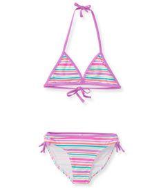 Kids' Rainbow Stripe Bikini Set - PS From Aéropostale®