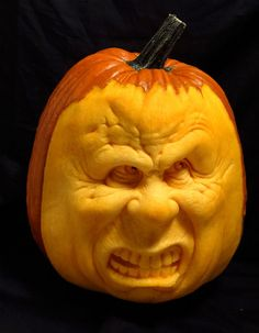 3D carved Pumpkin by rgclayboy on DeviantArt