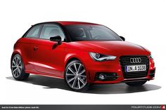 Audi A1 S line Style Edition Paints the Town Red, White, Silver & Black - Fourtitude.com