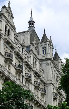 """The Royal Horseguards Hotel in Whitehall Court, and Whitehall Court, I tell you truly, is one of the unsung glories of London. The eminent architect Nikolaus Pevsner described it thusly…..""""the (great)..."""