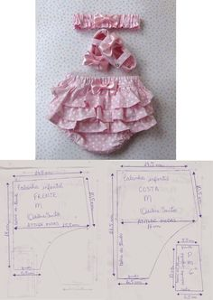 icu ~ Pin on Baby things to make ~ Super Ideas Sewing Projects For Kids Clothes Baby Patterns. Baby Dress Patterns, Baby Clothes Patterns, Sewing Patterns, Sundress Pattern, Sewing Projects For Kids, Sewing For Kids, Sewing Clothes, Doll Clothes, Baby Bloomers