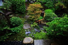 Japanese bridges add elegance to gardens and look beautiful when placed over a koi pond or Japanese style dry river bed. There are many flowers, shrubs and trees that compliment Japanese bridges also. Japanese Garden Design, Japanese Gardens, Zen Gardens, Outdoor Areas, Outdoor Structures, Japanese Style Bedroom, Japan Garden, Garden Waterfall, Garden Theme
