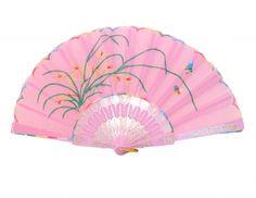 #Pink Hand Fan