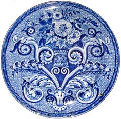 Mosaic Tracery  Plate, 10 inches.  This pattern is the same on all sizes and shapes.    The plate has an impressed Clews (1815-1834) mark on the back, along with the printed pattern name.