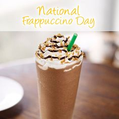 Spoil yourself and celebrate National Frappe Day! #memorytag #coffee #tuesday www.thememorytag.com