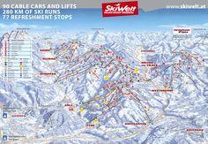 Brixen im Thale - SkiWelt : Ski area - - Ski resort - Skiing holiday - Mariastein,Itter,Westendorf,Schwoich,Brixen im Thale - Skiing - - Tyrol - Austria Hopfgarten Im Brixental, Excellence Resorts, Wilder Kaiser, Tirol Austria, Visit Austria, Life Cover, Trail Maps, Ski And Snowboard, What Is Like