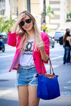 blazer rosa - Pesquisa Google
