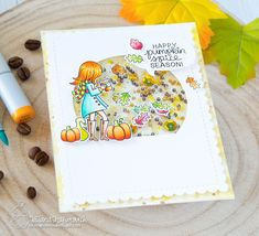 Newton's Nook Designs August Release and Giveaway – Day 1 – Pumpkin Latte Giant Pumpkin, Leaf Stencil, Pumpkin Spice Coffee, Coffee Cards, Fall Cards, Thanksgiving Crafts, Autumn Theme, Pattern Paper, I Card