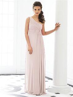 Creme colored bridesmaid dress...