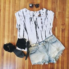 tie dye #outfit