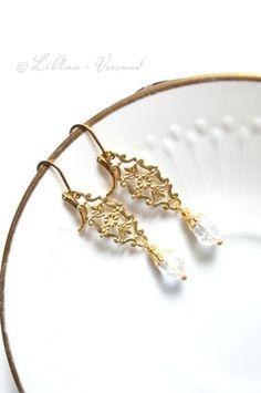 Ohrringe - ✼ Elfenwasser ✼ Ohrringe - ein Designerstück von LiAnn-Versand bei DaWanda