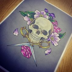 Lil skully For custom tattoos or to book email Prettygrotesquetattoosuk@gmail.com #scissors #scissortattoos #hairdressing #hairdresser #tattoo #scissorstattoo #flowertattoo #flowertattoos #flower #tattoos #tattoo #tattoodesign #skull #skulltattoo #skulls #skulltattoos #skullstattoo #floral #floraltattoo