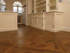 Antique Floors provide you with the best parquetry oak flooring as well as hardwood country plank of many types. French Oak, Marie Antoinette, Plank, Your Design, Kitchens, Kitchen Cabinets, Flooring, Antiques, Wood