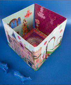 Dolls Cube - Château Royal - @milicaps pour Mon Petit Art #dollhouse