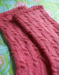 """Summer Sox""  cotton, wool and nylon blend for lightweight summer socks and  a free pattern"