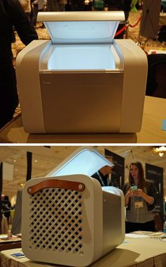 Kube is a sleek, portable hi-fi audio system that also happens to have an insulated space for your favorite beverages.