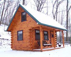 Homesteader Log Cabin - Wayside Lawn Structures