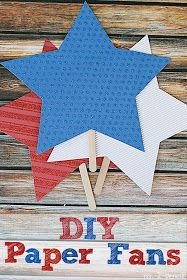Creative Green Living: 15 Fast Crafts for the Fourth of July {That Take 30 Minutes or Less}