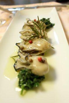 牡蠣のコンフィ  前菜   フランス料理のレシピ   フランス料理総合サイト【フェリスィム】〜フレンチでライフスタイルをもっと素敵に♪〜