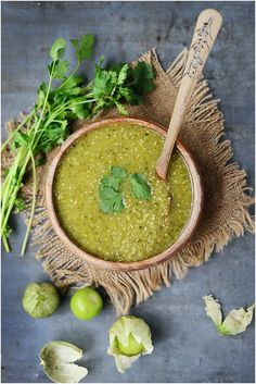 Tomatillo Sauce - Perfect as a salsa and for dishes such as enchiladas suizas & green chilaquiles