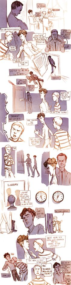 Teen Sherlock- The Boomerang Pt2 by DrSlug.deviantart.com on @deviantART