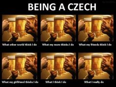 Czech it out. (For all my Czech and Slovak friends. Bohemian Cafe, Czech Beer, Beer Memes, Visit Prague, Czech Recipes, Three Sisters, Close To My Heart, Mojito, Czech Republic