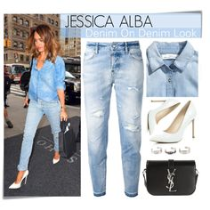 How To Wear Celebrity Look - Jessica Alba Outfit Idea 2017 - Fashion Trends Ready To Wear For Plus Size, Curvy Women Over 20, 30, 40, 50