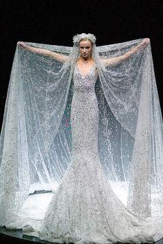 Alexander McQueen. snow queen, wedding dressses, alexander mcqueen, ice queen, alexandermcqueen, gown, mermaid dresses, alexand mcqueen, elie saab
