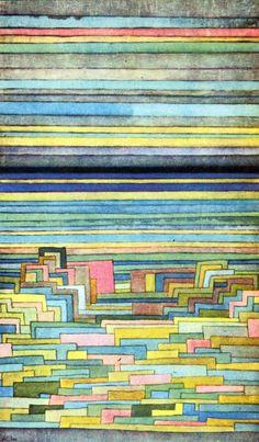 archiveofaffinities: Paul Klee, Lagoon City, 1932