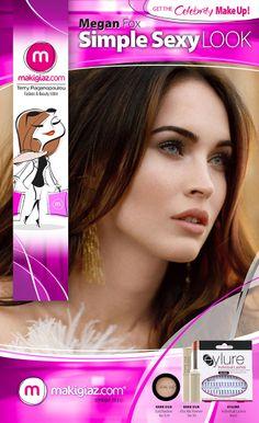 """""""Simple Sexy Look"""" of Megan Fox"""