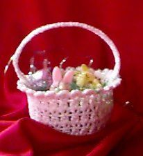 Easter Basket - free crochet pattern