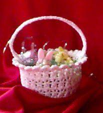 Easter Basket - free crochet pattern