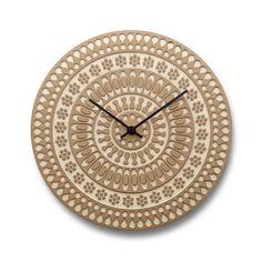 Ornament Clock in Birch – Heath Ceramics