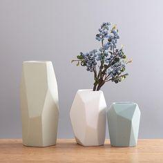 Modern Crystal Ceramic Vase