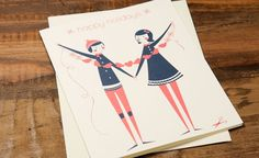 Paper Cut Out | Red Cap Cards