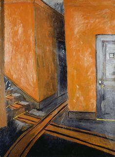 Auguste Chabaud (1882–1955); Hotelflur (Couloir d'hotel), 1907/1908; Öl/Karton/Sperrholz, 105 x 76 cm; Städel Museum, Frankfurt am Main; Foto: Städel Museum - U. Edelmann - ARTOTHEK; © VG Bild-Kunst Bonn